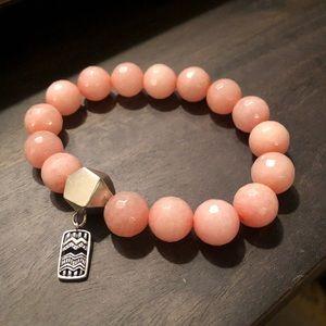 "Silpada ""Confection"" Melon Stretch Bracelet"
